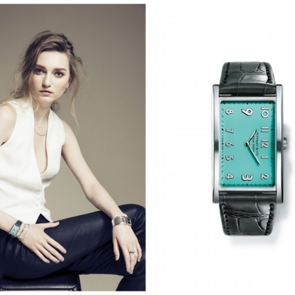 Tiffany橫式錶盤 開創讀時新視野