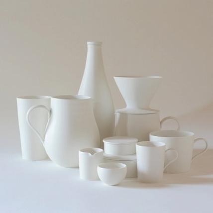 大谷哲也台北個展,靜心感受器皿的白與純粹