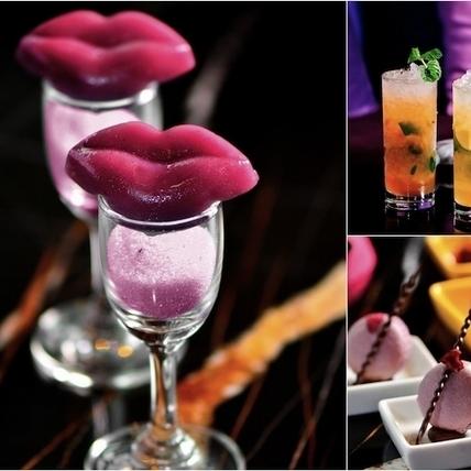 以台灣茶入酒、中式點心為題,紫艷酒吧「狂飲‧潮東方」下午茶