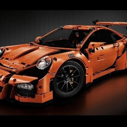 1:8 真實比例!LEGO Technic Porsche 911 GT3 RS 登場