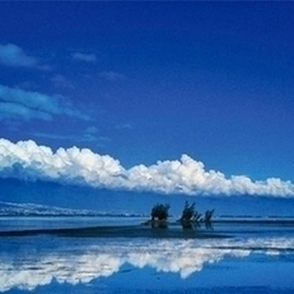 【滑指造影】海天雲帶