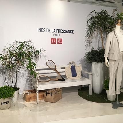 UNIQLO x INES DE LA FRESSANGE 法式浪漫大爆發!1/14 網路先搶先贏