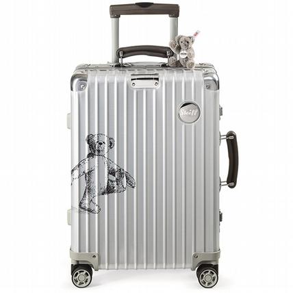 讓泰迪熊成為旅途最溫暖的夥伴!RIMOWA 攜手Steiff 推出聯名行李箱