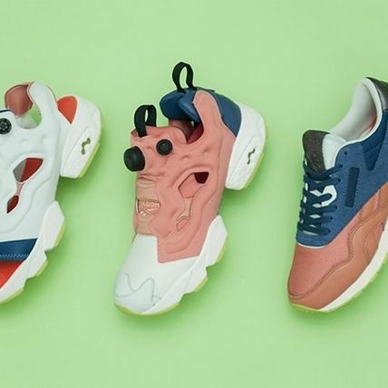 偷走少女心!Reebok與北歐彩妝推出聯名鞋款
