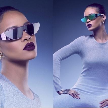 蕾哈娜時尚功力再發威! Rihanna x Dior 推出太陽眼鏡系列