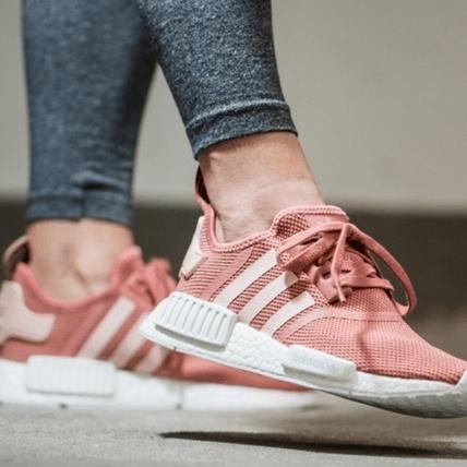 adidas推NMD輕甜系新色!淡淡珊瑚粉「萌翻了」