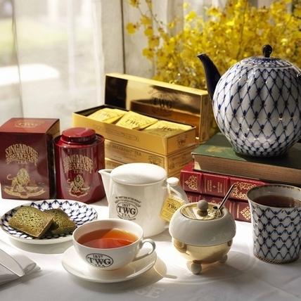 茶桌上的TWG Tea奢華之旅