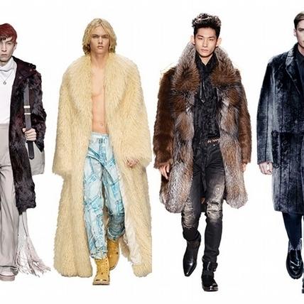 2015秋冬男裝周:粗獷皮草