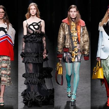 2016秋冬米蘭時裝周:Gucci  時空的漫遊