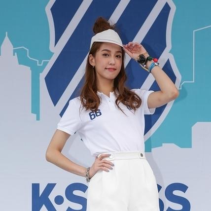 陳庭妮愛慢跑 陽光甜心運動裝扮重點是...