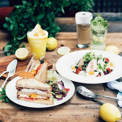 L'OCCITANE Café普羅旺斯夏日輕食,清新田園風美味