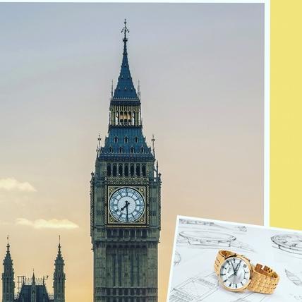 靈感源於建築  Big Ben英國倫敦大笨鐘腕錶登場