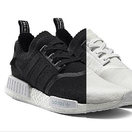絕對秒殺!adidas Originals NMD經典黑白Primeknit系列上市日期公布