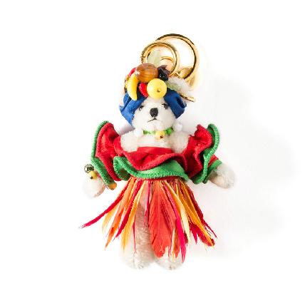 奧運的時尚魅力!PRADA小熊萌扮森巴女郎