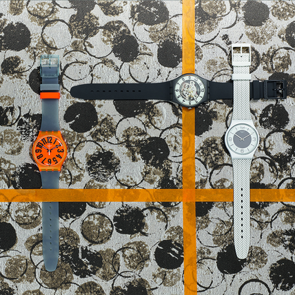腕錶玩創意 Swatch秋冬新款好有型