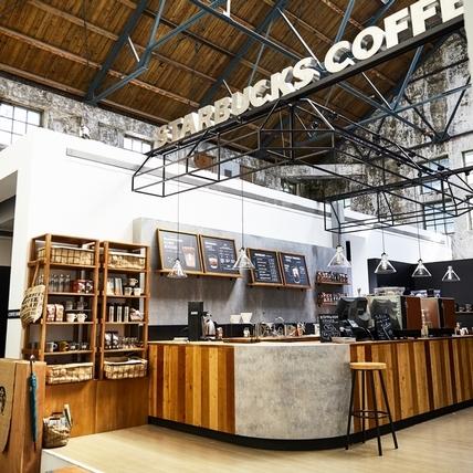 星巴克概念店華山登場,來一場跨時空的咖啡旅行