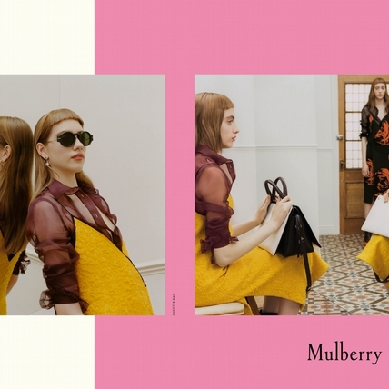 Mulberry秋冬廣告好幽默  大玩鏡射遊戲
