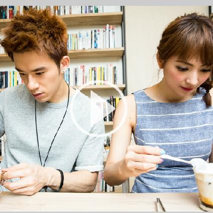阿喜與 JR 立體拉花咖啡初體驗
