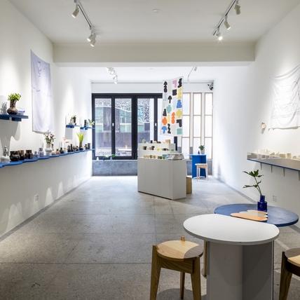 藝廊內的夏日冰菓室