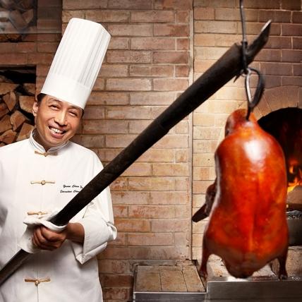 正宗袁式烤鴨只在香格里拉!烤鴨廚神袁超英師傅期間限定客座展廚藝!