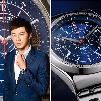 李國毅處女秀 展演「地表CP值最強自動機械錶」