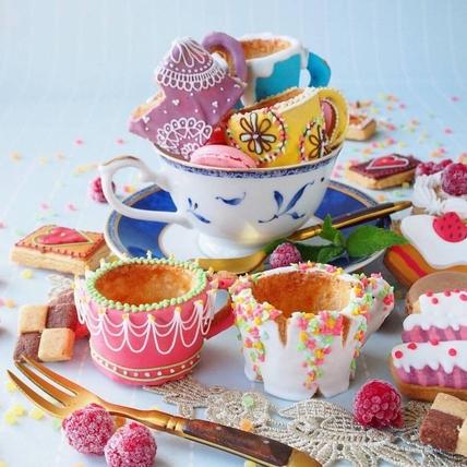 甜點與繪本根本超合拍,IG上必追的療癒系「甜點藝術家」!