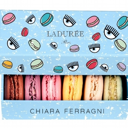 Chiara Ferragni Loves Laduree: Chiara Ferragni X Laduree 限量聯名款發燒上市