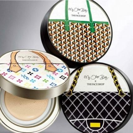 用這些氣墊粉餅上妝 香香、LV、Goyard包包帶著走