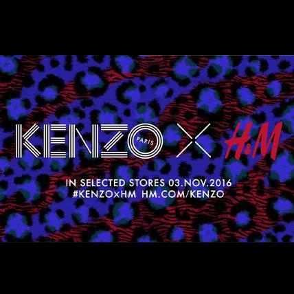 KENZO x H&M 兩強聯名夠大膽!首波形象照搶先看