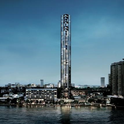 湄南河畔的極致奢華宅,曼谷《四季水岸香榭》正式在台預售