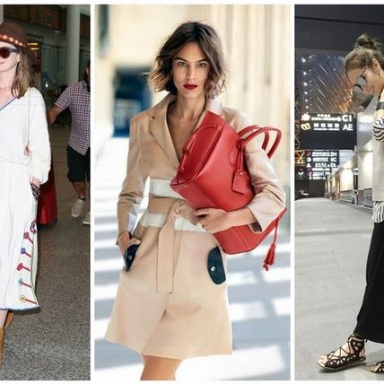 機場時尚之最——Longchamp小潘包!