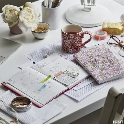 Afternoon Tea 2017手帳本吹起英倫風