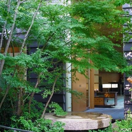 庭園內的旅館與旅館內的庭園——「庭のホテル 東京」