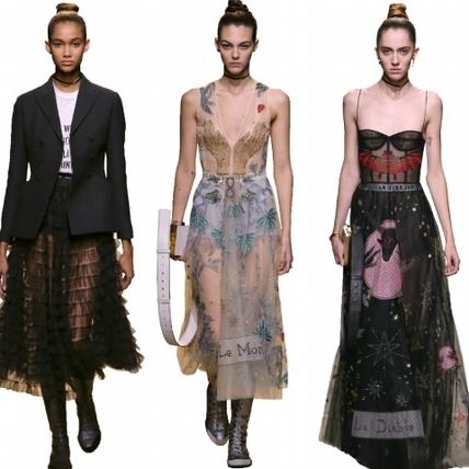 【2017春夏巴黎女裝周】Dior  真我女人