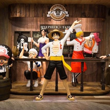 官方海外唯一授權「航海王」主題餐廳,甫開幕立馬夯爆粉絲!