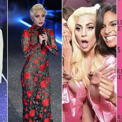Lady Gaga首次登上維密大秀就當演唱會在舉辦!連換5套造型火力全開