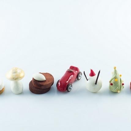 超人氣排隊甜點名店「CJSJ」快閃晶華,推8款專屬耶誕甜點