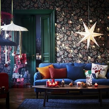 缺耶誕居家布置好點子嗎?來IKEA逛逛吧!