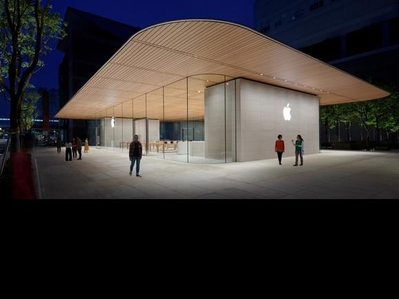 果粉們注意!Apple首間獨立旗艦店登場信義A13 氣派程度超乎你的想像