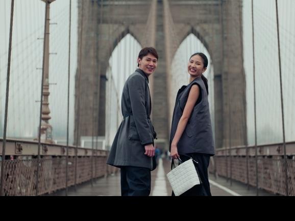 吳珝陽陳詠芯走秀紐約時裝周 低溫街拍冷出雞母皮