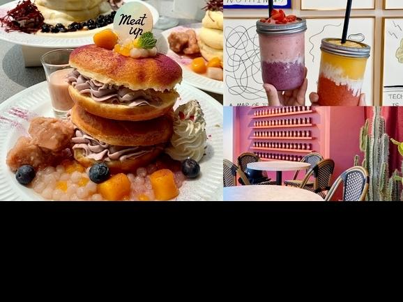 西門人氣打卡店「MEAT UP」升級成粉紅樂園!芋泥甜點、酪梨早午餐、戀愛系調酒同步登場,早午晚都能帶閨蜜來