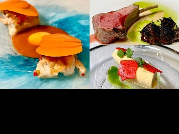 老饕夏日必吃佳餚!「Orchid Restaurant蘭」初夏新菜上桌,主打「蔬果+海鮮」無負擔料理好清爽
