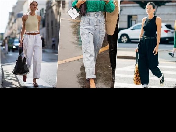 是梨形女孩的福音!想穿得一身顯高又顯瘦,百搭「高腰闊腿褲」絕對要有