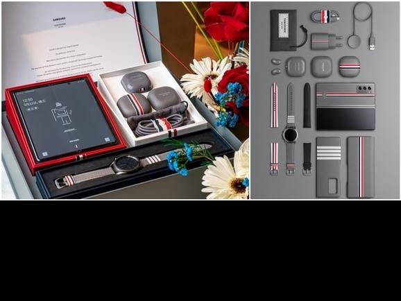這一組太華麗!Thom Browne攜手三星推Galaxy Z Fold2聯名限量版,9/24重磅登場