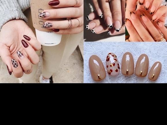 「可以個性也可以甜美的豹紋,超適合秋冬的啊,」冷冷季節的指尖就用動物紋,來搭配低調的服裝吧
