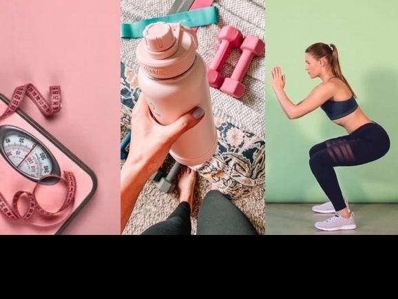 每天十分鐘,就能增肌減脂瘦身,深蹲加開合跳有氧訓練,夏天來前動起來