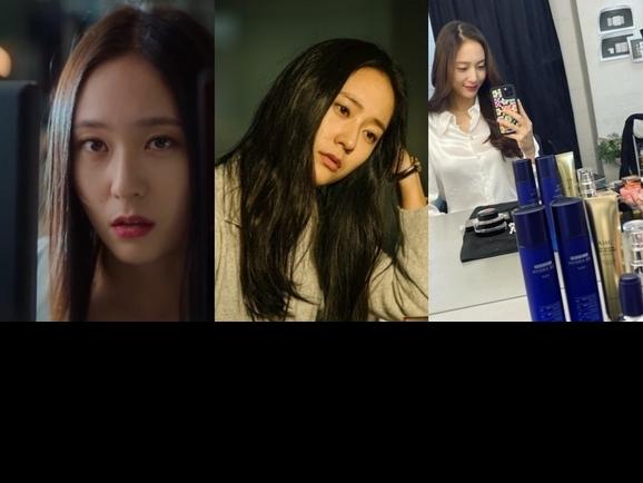跟著《酸酸甜甜愛上你》Krystal  養出女神肌, 不管厭世、邋遢、喝茫都能發光惹人愛!