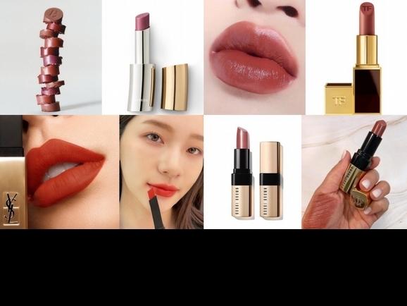 質感系奶霜唇膏,不只潤澤舒適,紅棕色、木玫瑰色溫柔顯白,黃皮女孩一定要有