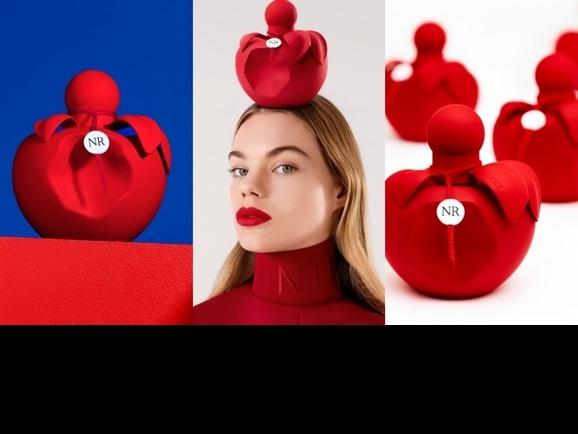 蘋果就要咬一口!Nina Ricci「Nina Extra Rouge 緋紅甜心女性淡香精」,極致的緋紅瓶身裡,就是令人垂涎的東方花香調