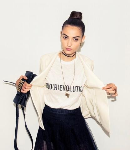 時髦LOGO Tee 1 –Dior slogan T-shirt